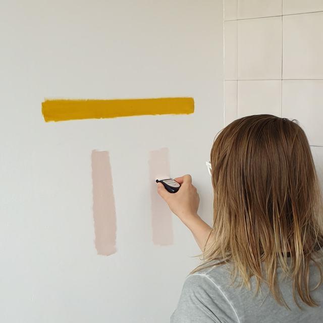 Flexa Creations kleurtesters Retro Vibe, Stylish Pink en Humble Blush