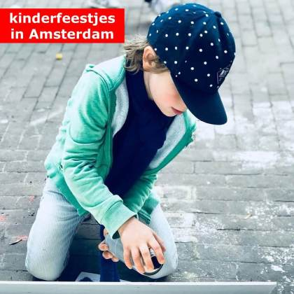 De leukste kinderfeestjes in Amsterdam
