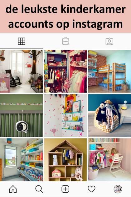 De leukste kinderkamer accounts op Instagram