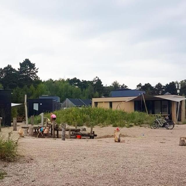 waterspeeltuin op camping Bakkum bij Duinroos en Duinzicht