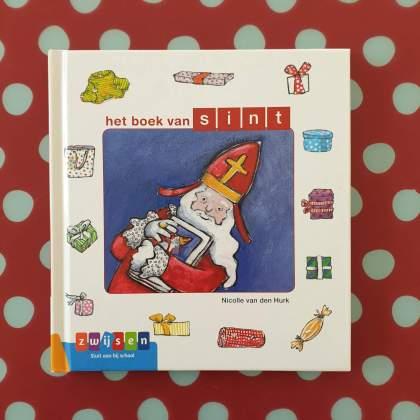 AVI boeken over Sinterklaas voor kinderen die net leren lezen - Het boek van Sint - AVI start