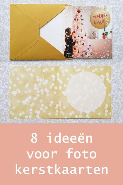 Wonderbaar Creatieve foto kerstkaarten maken met kinderen: 8 leuke ideeën XO-92