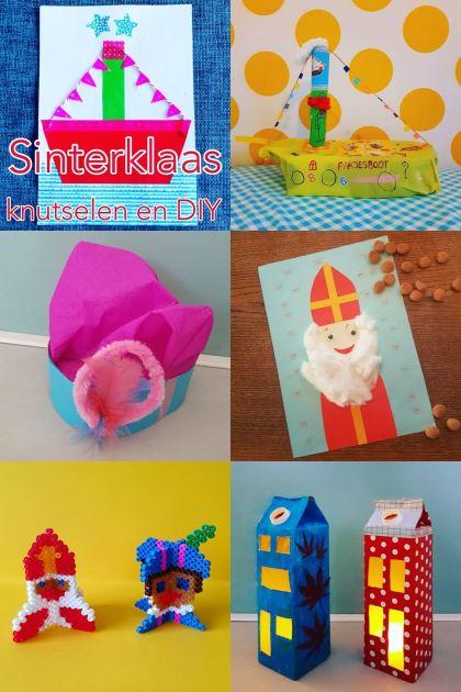 Sinterklaas knutselen: leuke ideeën voor Sint en Piet