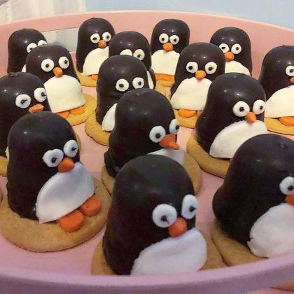 pinguïn toetje of traktatie