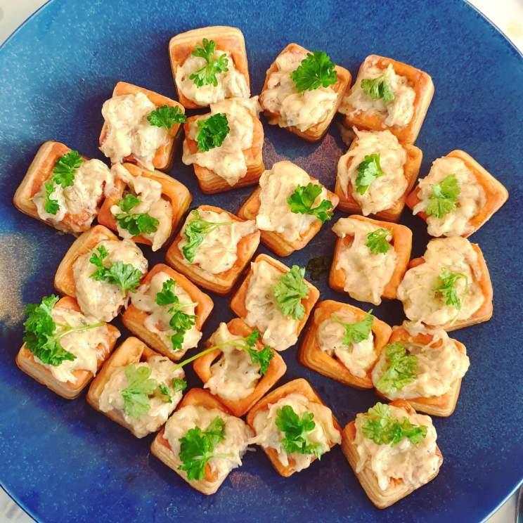 recept voor pasteitjes met ragout bij het paasontbijt