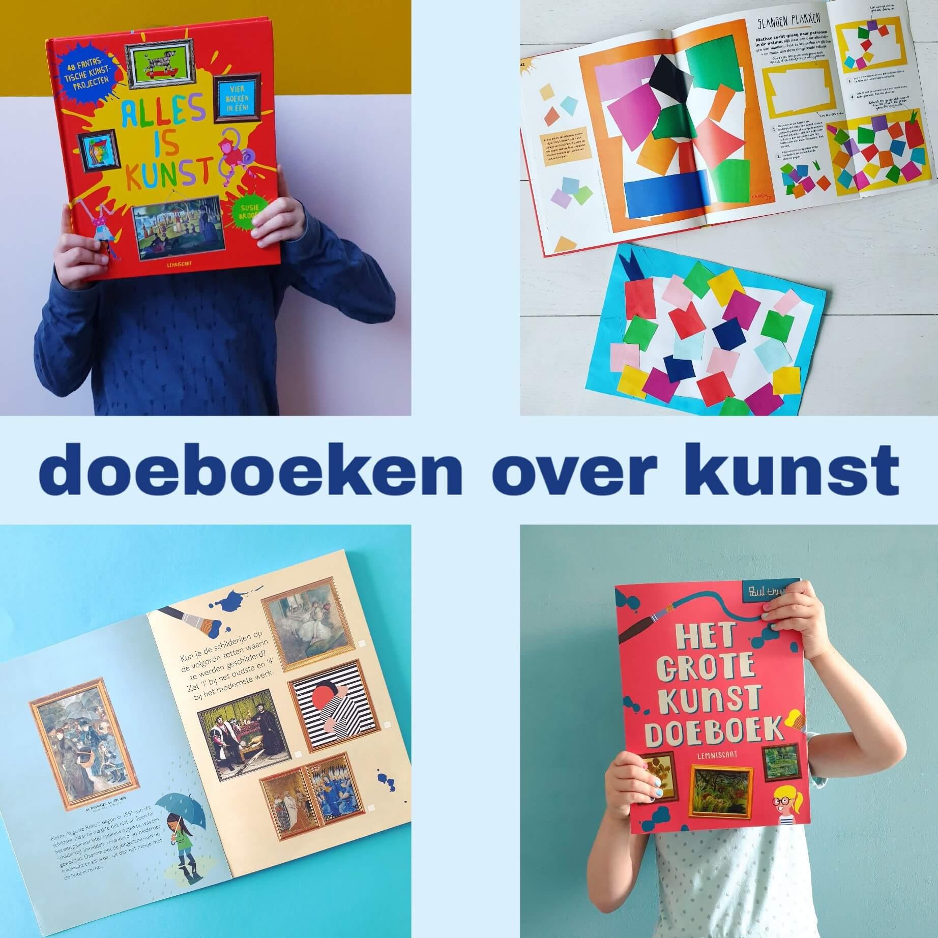 Twee boeken waarmee kinderen over kunst leren én het zelf maken