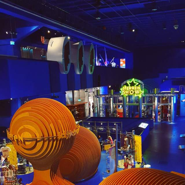 Museum met kinderen - het Nederlands Instituut voor Beeld en Geluid in Hilversum