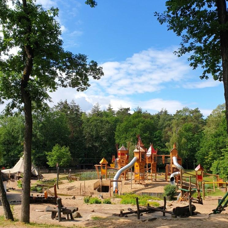 de speeltuin van Landal Miggelenberg