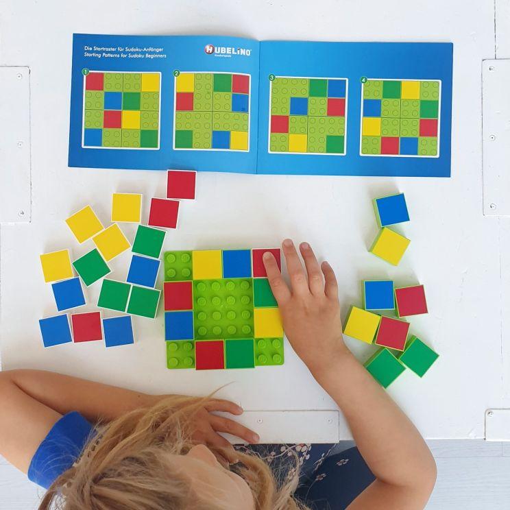 Hubelino Sudoku - handige spelletjes op een handig LEGO bordje