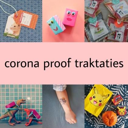 Corona proof traktatie ideeën: verjaardag vieren op school of crèche
