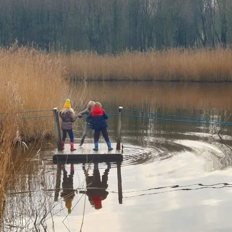 Wandelen met kinderen in de buurt van Amsterdam: plekken met speeltuin - Banjerbossie in het Diemerbos