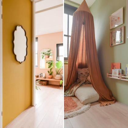 Flexa heeft een hele mooie nieuwe kleurcollectie uitgebracht: Flexa Binti Home. In de zo kenmerkende mediterrane kleuren van Souraya van Binti Home.