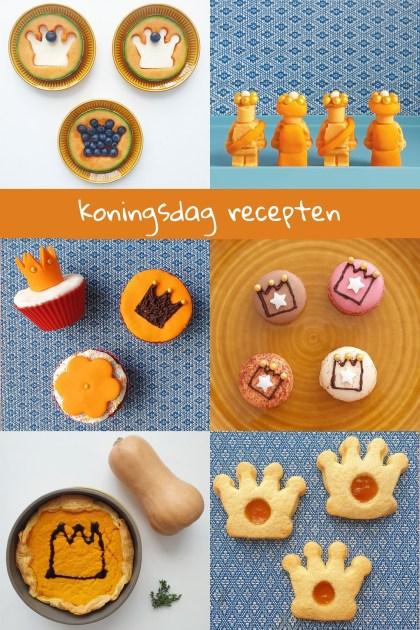 Oranje recepten voor Koningsdag: hartige en zoete ideeën voor kinderen