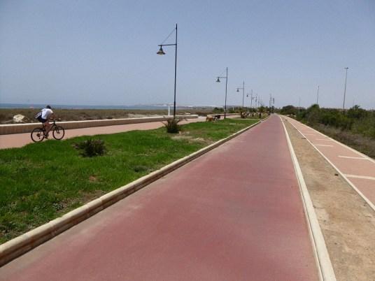 Promenade Richtung Almerimar
