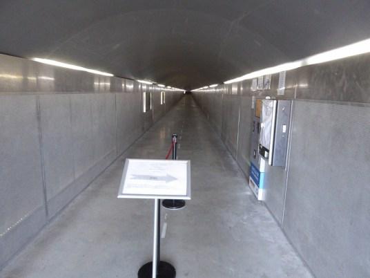 Der Tunnel in den Berg