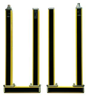 safety light curtains leuze the