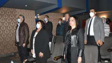 """صورة وزيرة الثقافة ورئيسة القومي للمرأة تشهدان """"جنه هنا"""" بأوبرا ملك"""