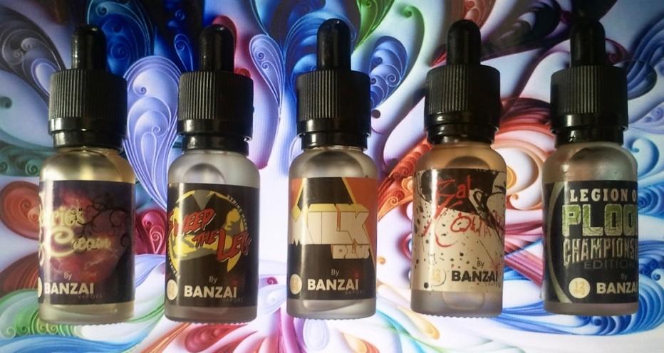 Overzicht van de VS-reeks: Banzai-dampen