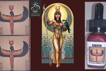 """Isis de la gamme """"les dieux Egyptiens"""" par All Day"""