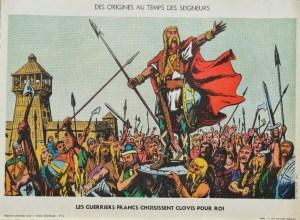 Storyboard CE 04 Frankish Warriors Kies Clovis voor King