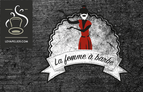 The Beard Woman (gamma Black Cirkus Vapers Edition) di Cirkus