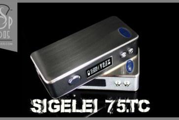 75w TC door Sigelei
