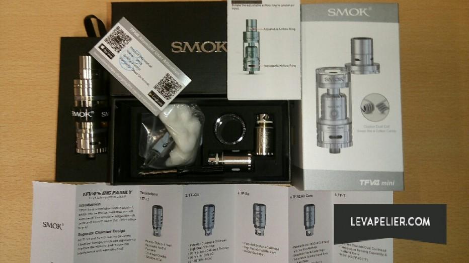 smok TFV4 mini package