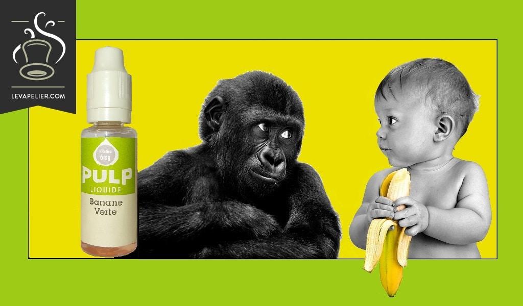 Groene banaan van Pulp