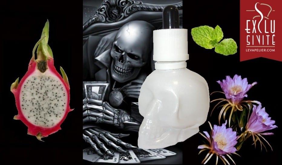 "White Poison Drip Juice ""Hearts"" van EcoVape"