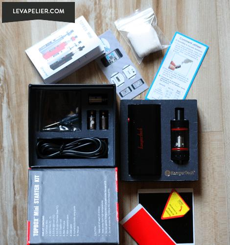 K BOX Mini package