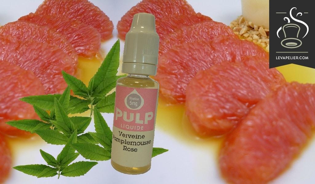 Roze grapefruitverbena van Pulp