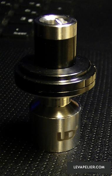 UD Mini Goblin V2 Open haard + dop + originele druppelpunt