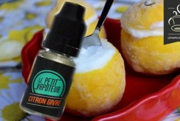 Frosted Lemon van Le Petit Vapoteur