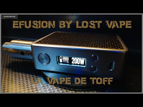 Efusion par Lost Vape [VapeMotion]