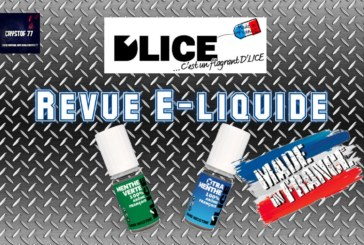 """GREEN MINT"" en de ""XTRA MINT"" door D'LICE [VapeMotion]"