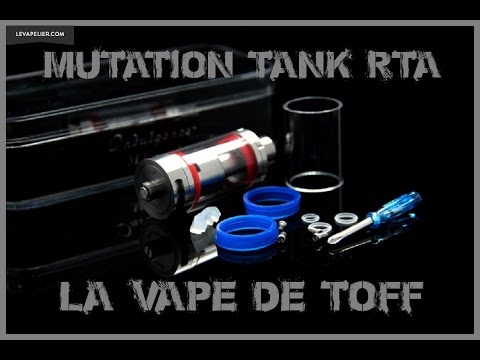 RTA טנק מוטציה על ידי Unicig [VapeMotion]