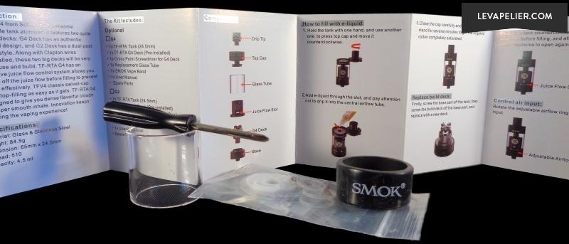 SMOK TF RTA confezione 4