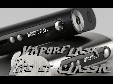 Vaporflask Lite et classic par Vape Forward [VapeMotion]