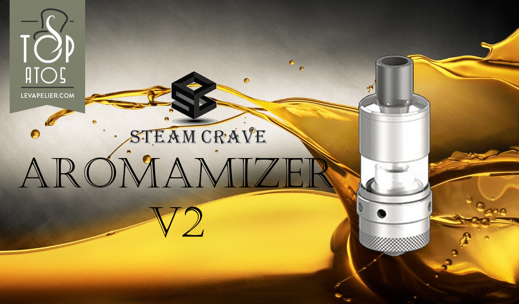 Aromamizer V2 di Steam Crave