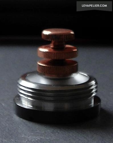 Top-cap Pin positif réglable