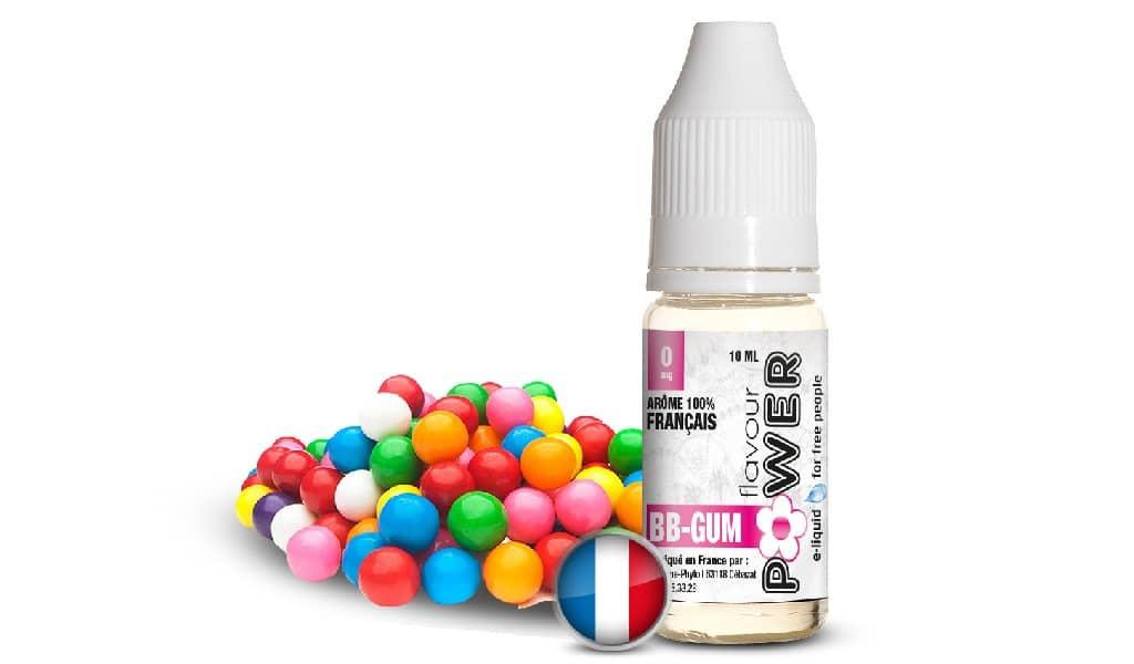 BB GUM gamme 50/50 par Flavour Power