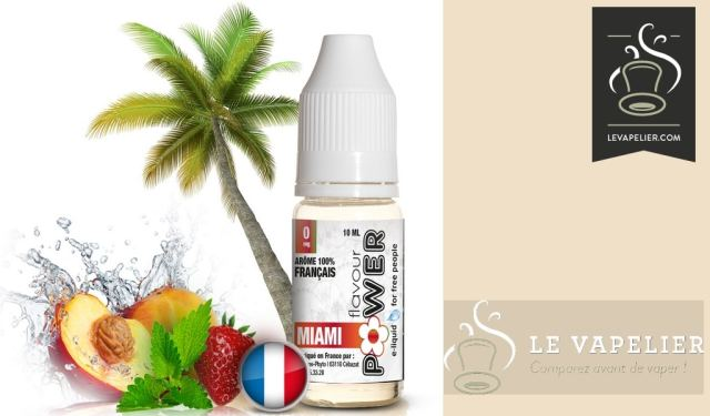 MIAMI (Serie 50 / 50) por FLAVOR POWER