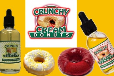 Frosted Lemon van Crunchy Cream Donuts