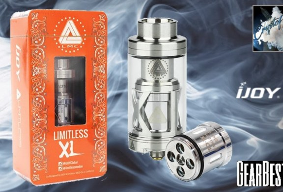 LIMITLESS XL RTA by IJOY [VapeMotion]