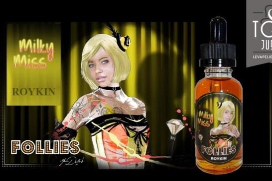 Milky Miss Follies range by Roykin