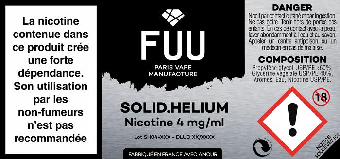 Solid Helium (Gamme Original Silver) par Fuu