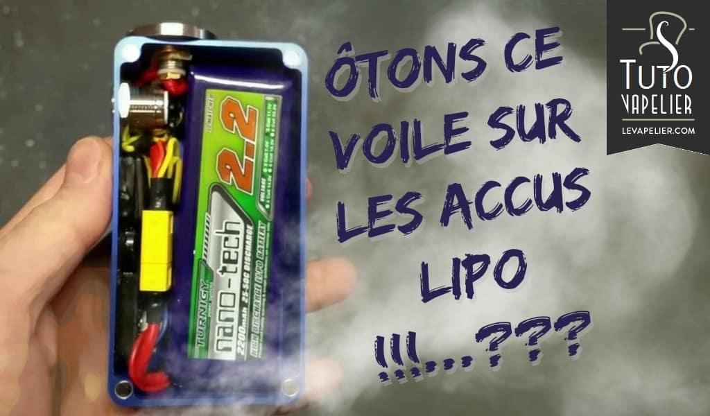 LiPo-batterijen onder de microscoop