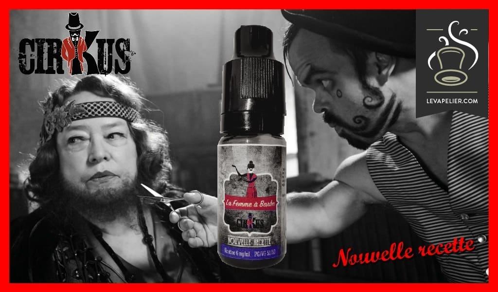 "The Woman with Beard ""new recipe"" (Range Black Cirkus) van Cirkus"