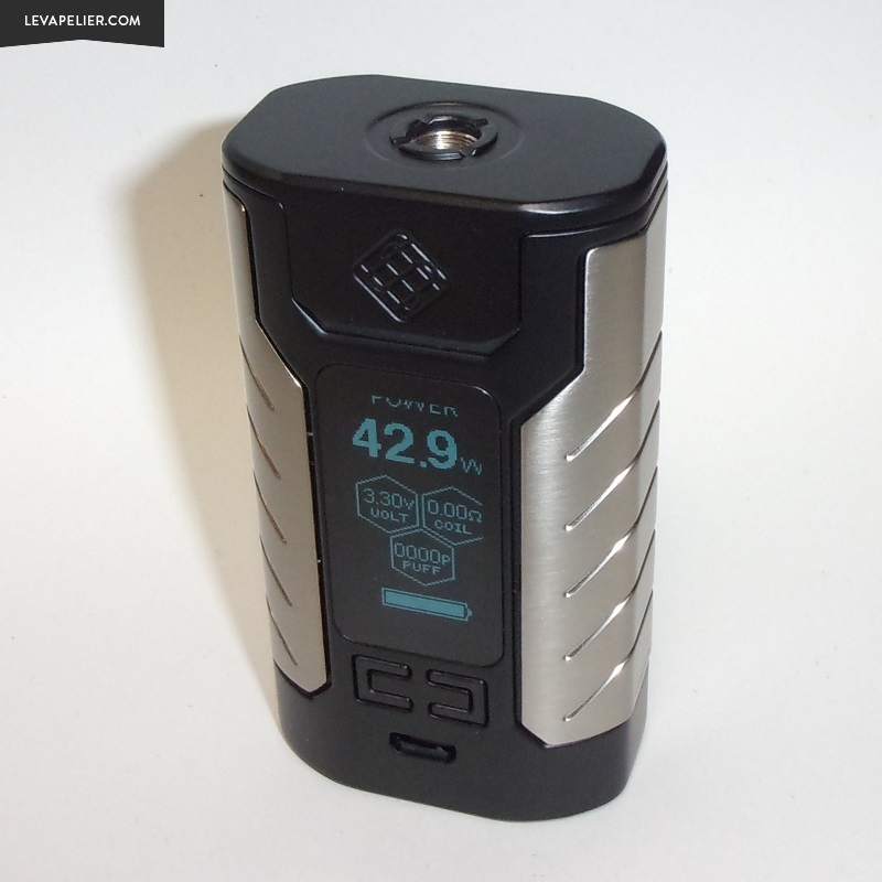 Tests and Reviews: Sinuous FJ200 by Wismec ~ The Vapelier