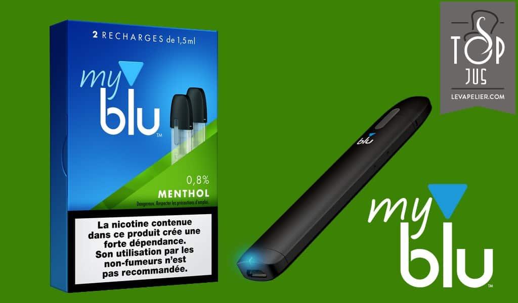 Menthol (Gamme myblu) par blu
